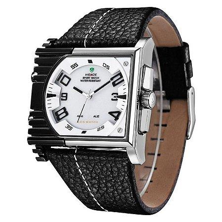 Relógio Masculino Weide AnaDigi Esporte WH-2301 Branco-