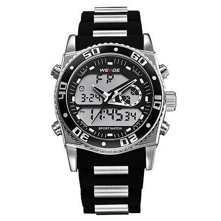 Relógio Masculino Weide AnaDigi Esporte WH-2316 Preto-