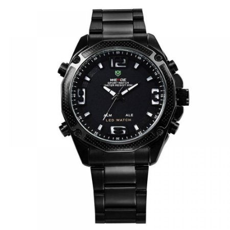 Relógio Masculino Weide AnaDigi WH-2306 - Preto