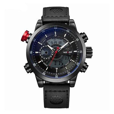 Relógio Masculino Weide AnaDigi WH-3401-C - Preto