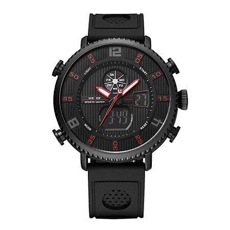 Relógio Masculino Weide AnaDigi WH-6101 - Preto