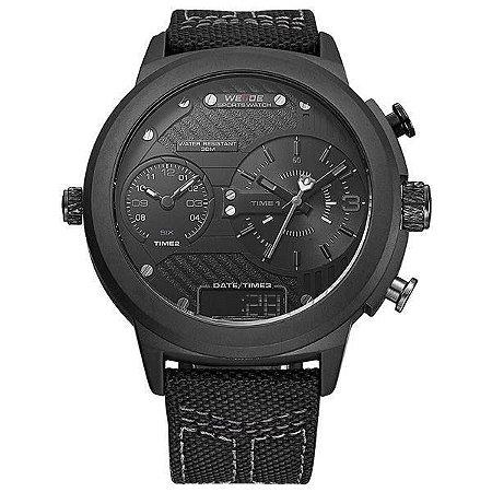 Relógio Masculino Weide AnaDigi WH-6405 - Preto