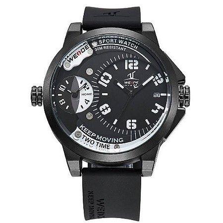 Relógio Masculino Weide Analógico UV-1501 - Preto e Branco