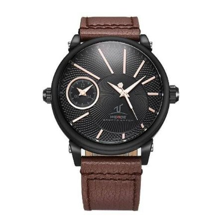 Relógio Masculino Weide Analógico UV-1508 - Marrom e Preto