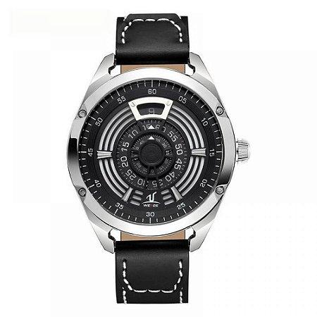 Relógio Masculino Weide Analógico UV-1701 Preto e Prata