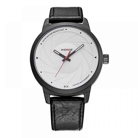 Relógio Masculino Weide Analógico WD005 - Preto e Branco