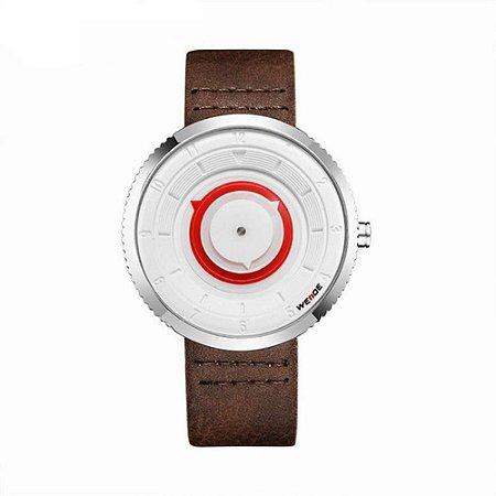Relógio Masculino Weide Analógico WD006 Preto e Prata