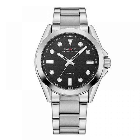 Relógio Masculino Weide Analógico WH-802 - Prata e Preto