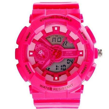 Relógio Feminino Skmei AnaDigi 0929 - Rosa
