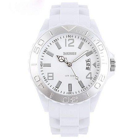 Relógio Feminino Skmei Analógico 1041 Branco-