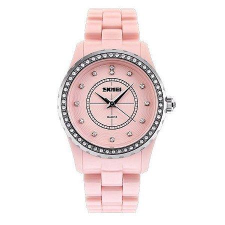 Relógio Feminino Skmei Analógico 1158 Rosa-