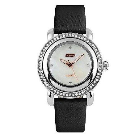 Relógio Feminino Skmei Analógico 9093 Preto