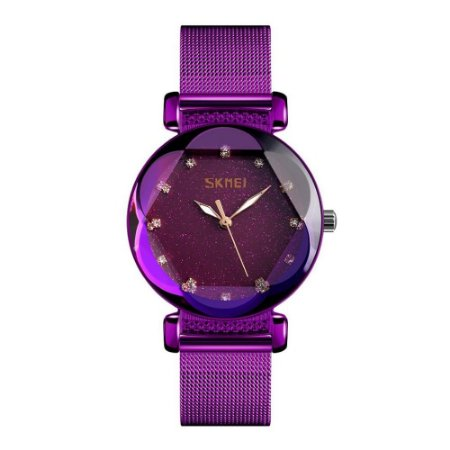 Relógio Feminino Skmei Analógico 9188 - Roxo