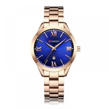 Relógio Feminino Curren Analógico C9007L - Rose
