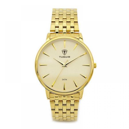 Relógio Feminino Tuguir Analógico 5041 - Dourado