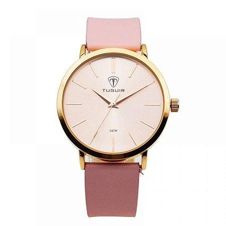 Relógio Feminino Tuguir Analógico 5441L Rosa