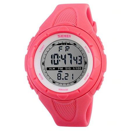 Relógio Feminino Skmei Digital 1074 Rosa