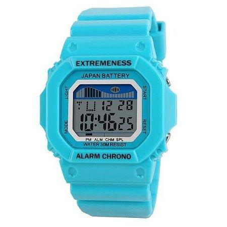 Relógio Feminino Skmei Digital 6918 Azul