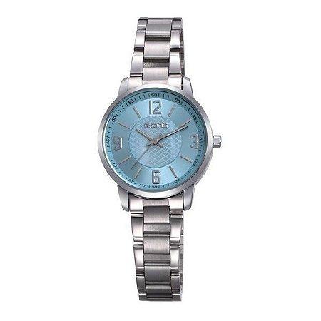 Relógio Feminino Skone Analógico Casual  7308L Azul-