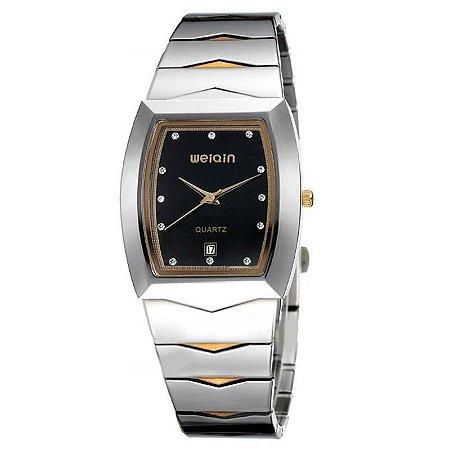 Relógio Feminino Skone Analógico Casual W0045BG Preto-