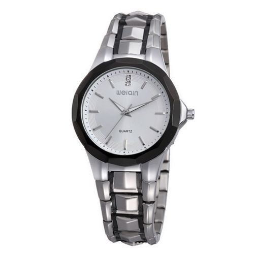 Relógio Feminino Skone Analógico Casual W0099 Prata-