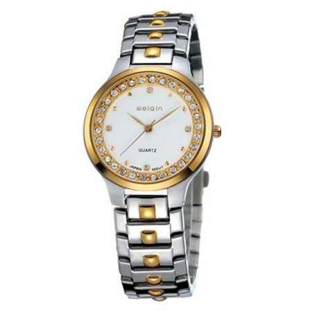 Relógio Feminino Skone Analógico Casual W4147G Dourado-