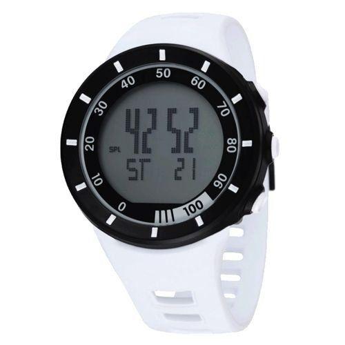 Relógio Masculino Ohsen AnaDigi Esporte 2821 Branco-