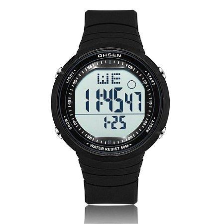 Relógio Masculino Ohsen Digital 1812 - Preto