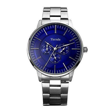 Relógio Masculino Tierxda Analógico 5271G Azul-