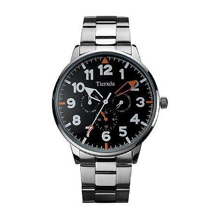 Relógio Masculino Tierxda Analógico 5272G Laranja-
