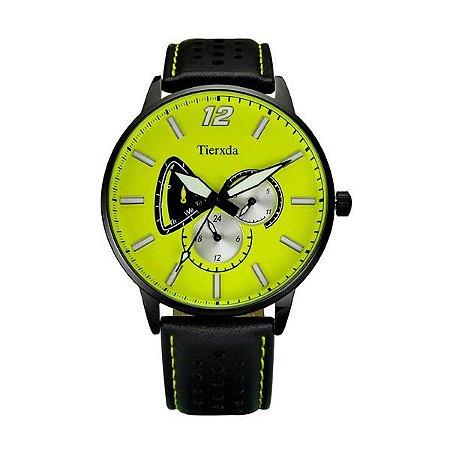 Relógio Masculino Tierxda Analógico 5273G Amarelo-