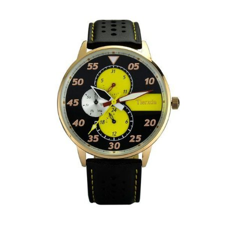 Relógio Masculino Tierxda Analógico 5274G Amarelo-