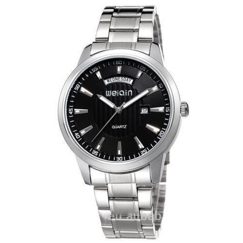 Relógio Masculino Weiqin Analógico Casual W0090 Prata-