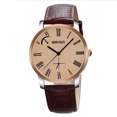Relógio Masculino Weiqin Analógico Casual W23056 Cobre-
