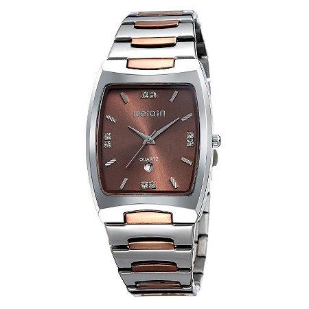 Relógio Masculino Weiqin Analógico W0054BG Bronze-