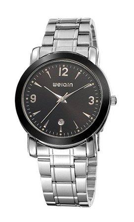 Relógio Masculino Weiqin Analógico W0074BG Preto-