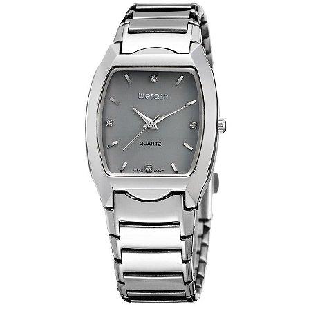 Relógio Masculino Weiqin Analógico W4194G Cinza-