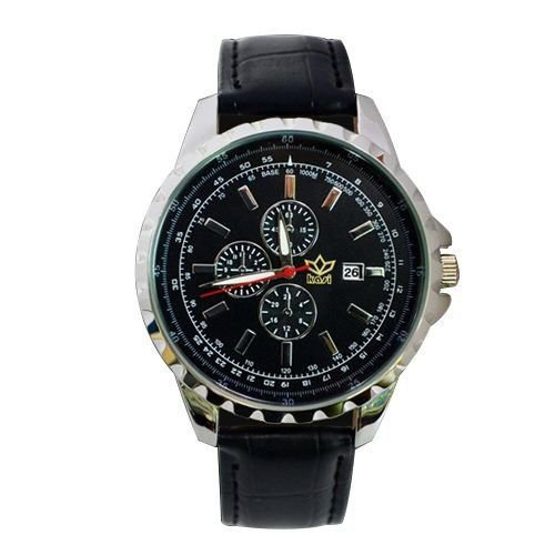 Relógio Masculino Kasi/Fmero Analógico Casual Y005 Preto-