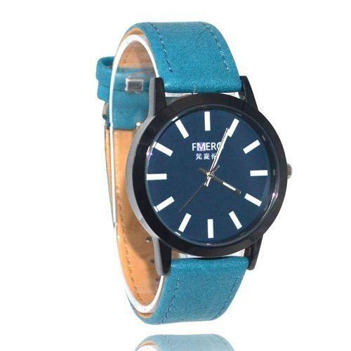 Relógio Masculino Kasi/Fmero Analógico Casual Y023 Azul-
