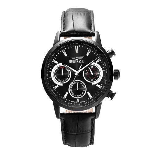 Relógio Masculino Berze Analógico BS024 Preto-