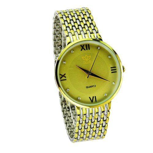 Relógio Feminino Kasi/Fmero Analógico Casual 6601 Dourado-