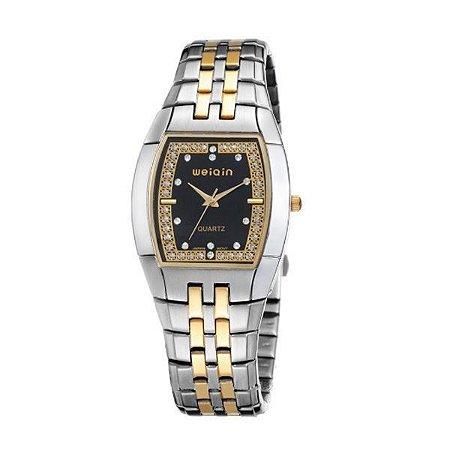 Relógio Feminino Weiqin Analógico W4170 Preto-