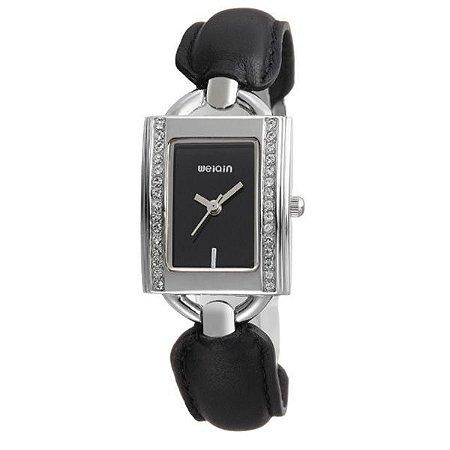 Relógio Feminino Weiqin Analógico W4492 Preto-