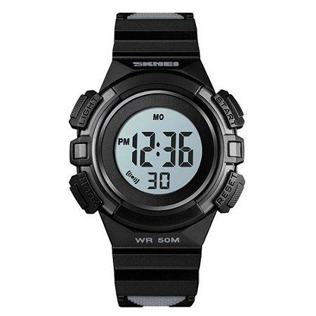 Relógio Infantil Skmei Digital 1485 Preto