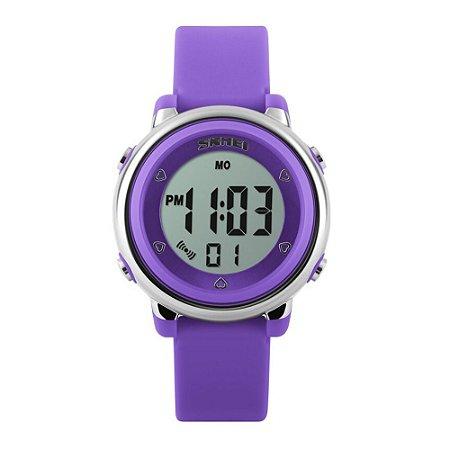 Relógio Infantil Skmei Digital 1100 Roxo