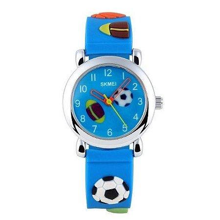 Relógio Infantil Skmei analógico 1047 Azul