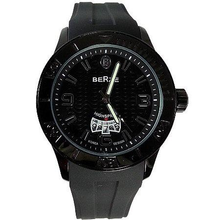 Relógio Analógico Social Berze BS144  Preto-