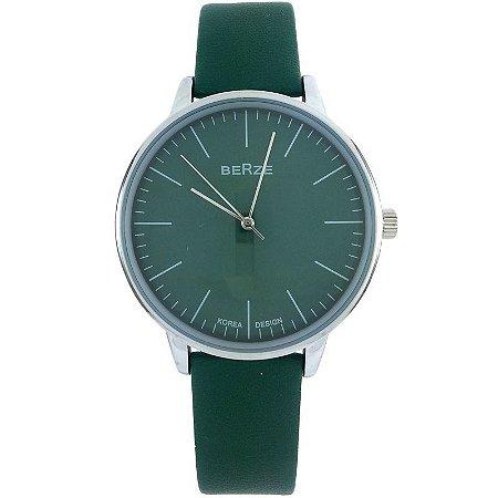 Relógio Analógico Social Berze BT238M Verde-