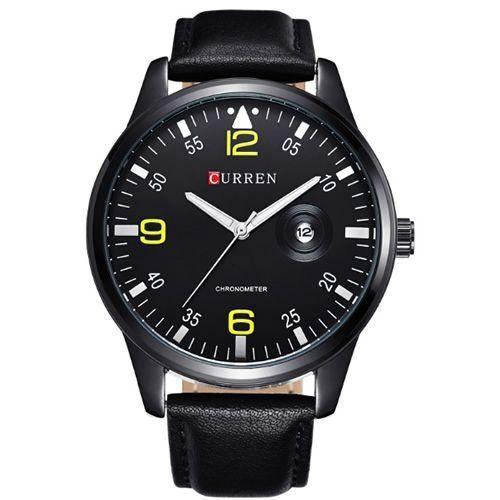 Relógio Curren Analógico 8116 Preto-