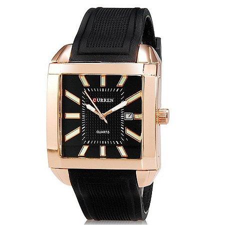 Relógio Curren Analógico 8145 Bronze-
